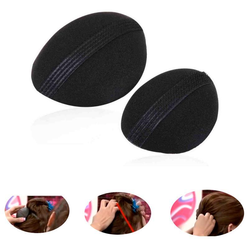 2шт/1 комплект мягкие губки Pad Вставка волос увеличение устройства прическа макияж инструмент для женщин фото