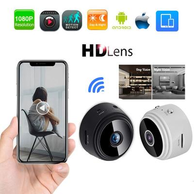 HD Mini IP WIFI Camera Camcorder Wireless Home Security DVR Night Vision Camera 1080P/720P