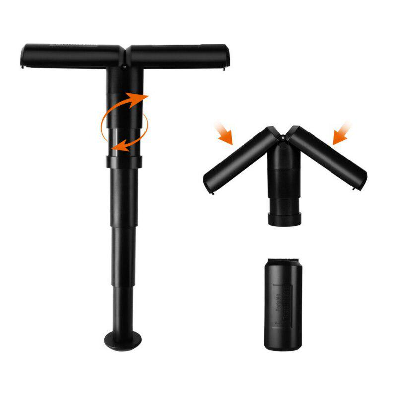 YuuHeeER Retractable Folding Camping Step Stool Seat Adjustable Portable Telescopic Stool For Fishing 1 Pc