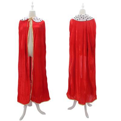 Дорослих святковий одяг плащ лук мотузку і точка шаблоном комір плащ одяг  для Halloween Party 9a7c466e61f2f