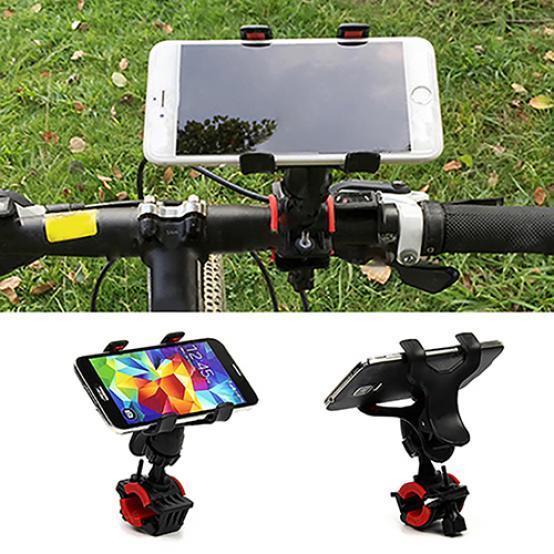 Универсальный мотоцикл MTB велосипедов руль велосипеда держатель для сотового телефона GPS – купить по низким ценам в интернет-магазине Joom