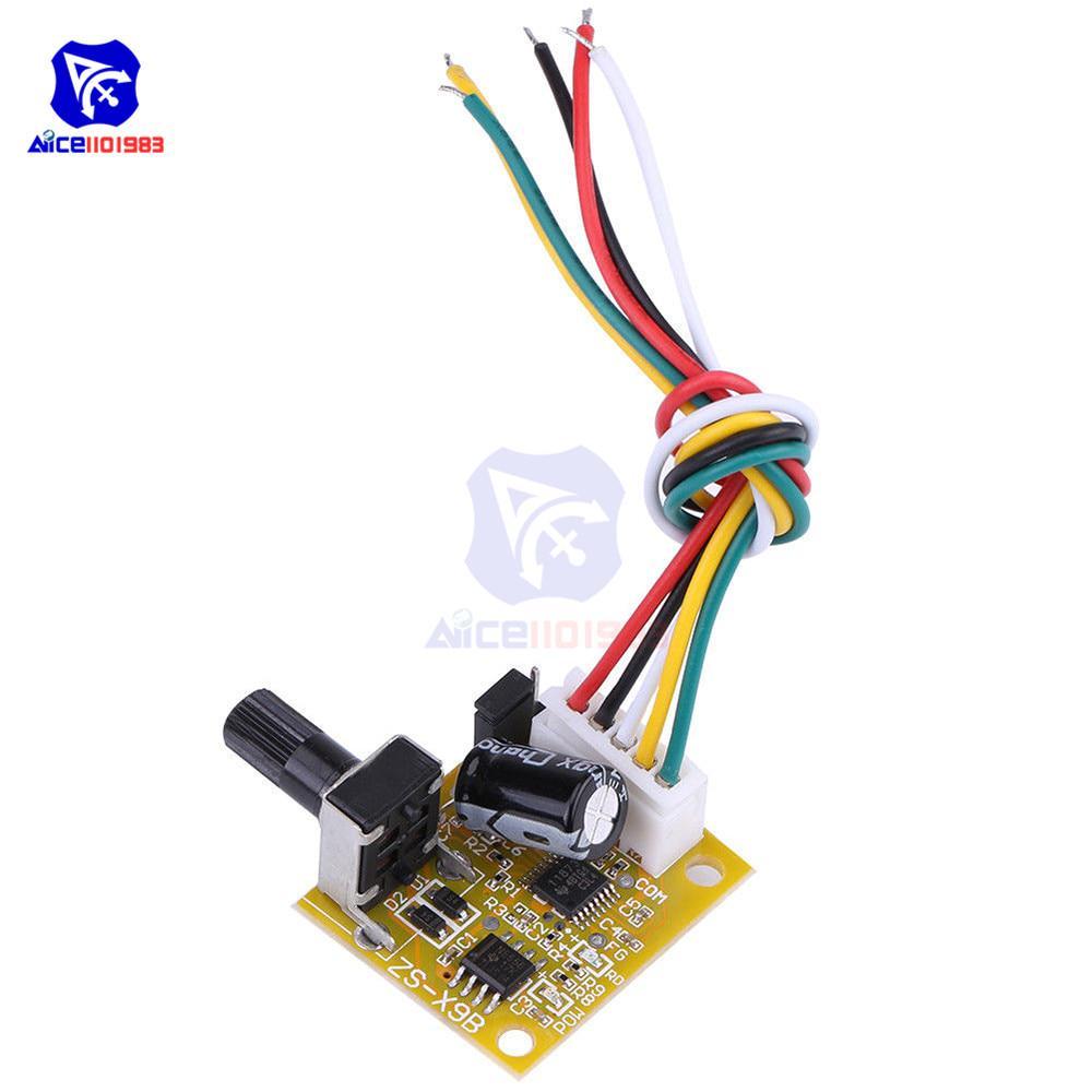 DC Brushless Motor Speed Regulator Speed Controller BLDC 3-Phase Motor Driver Speed Controller Motor Speed Regulator 5V-15V 15W