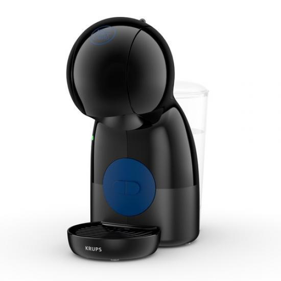 Krups Dolce Gusto Piccolo Xs Compact Coffee Machine, 15 Bar Pressure, Black Thermoblock Press Kp1a08