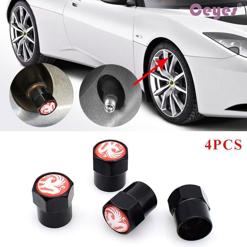 Seat ibiza Sport Styling Auto Accessories Car Wheel Tire Valve Caps Case 4 Piece