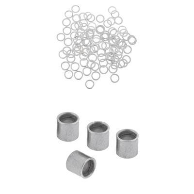Spiegel-Schrauben//Kopfschrauben Edelstahl für Zuhause Büro Dekor 25mm 4Stück