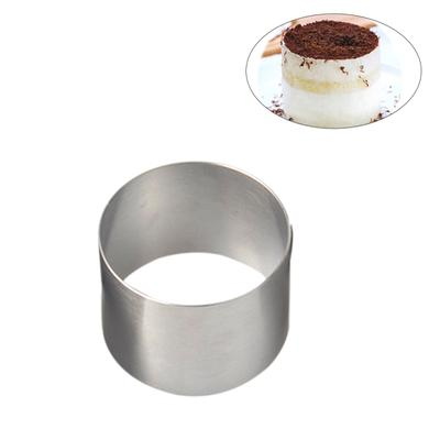 Household Round With Hole Breathable Mousse Cake Ring Kitchen Baking Tool