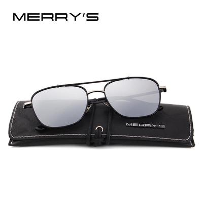 2bd936e6a9 MERRY S DESIGN Men Polarized Square Sunglasses Fashion Male Eyewear 100% UV  Protection S 8180