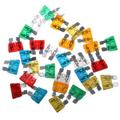 15 AMP blade fuses for car motorbike van pack of 11 New 15A standard fuses