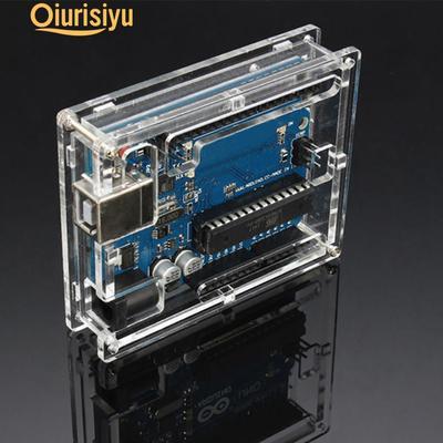 Shell Enclosure Computer Box Kits Transparent Clear Acrylic lw Raspberry Pi 3 B