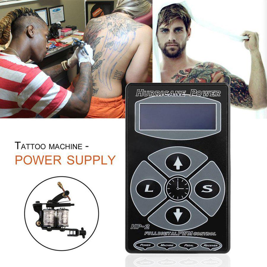 Cnmodle Tattooing Hurricane Hp 2 Digital Display Power Supply