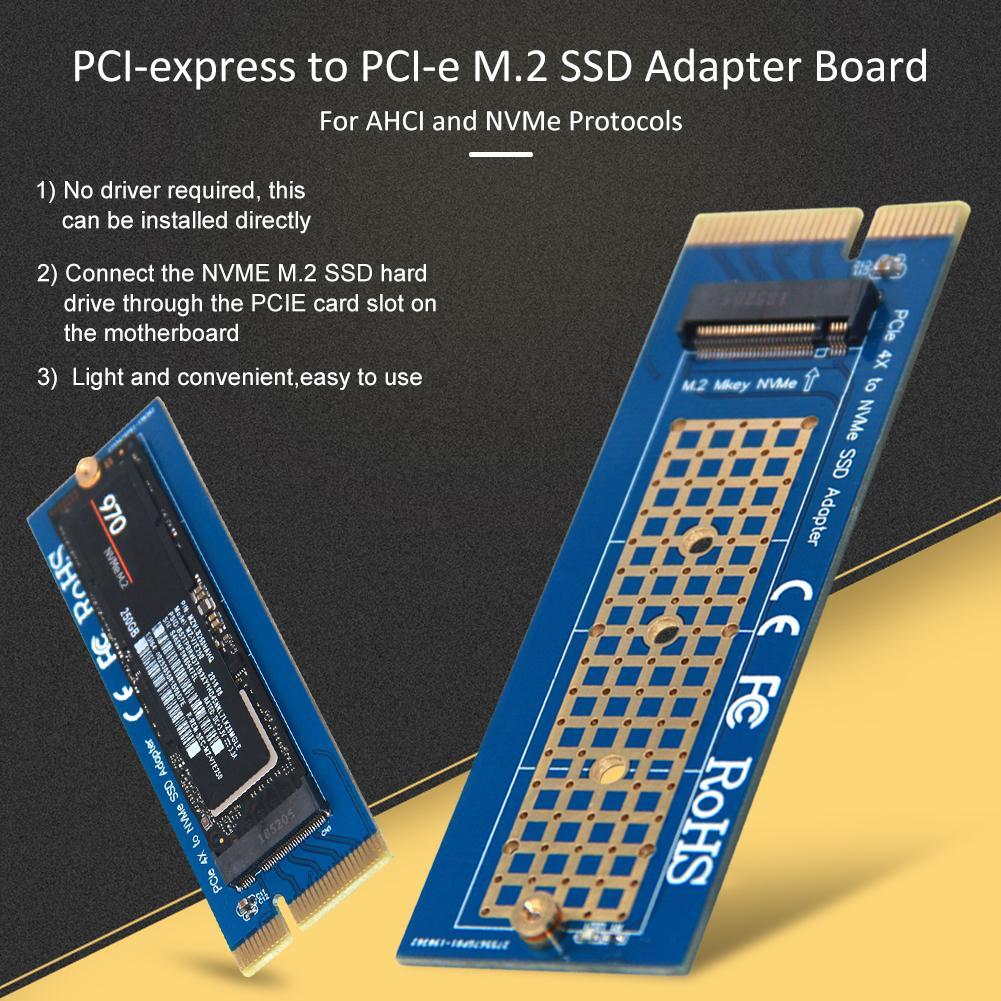 Diyeeni SSD Adapter Board PCI-E 4X//8X//16X to PCI-E M.2 SSD Adapter Converter Board for AHCI//NVMe Protocol