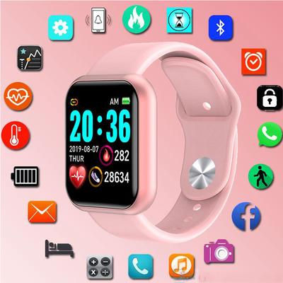 The Y68S smartwatch with a 1.3 inch screen, IP67 water protection and a pulsometer