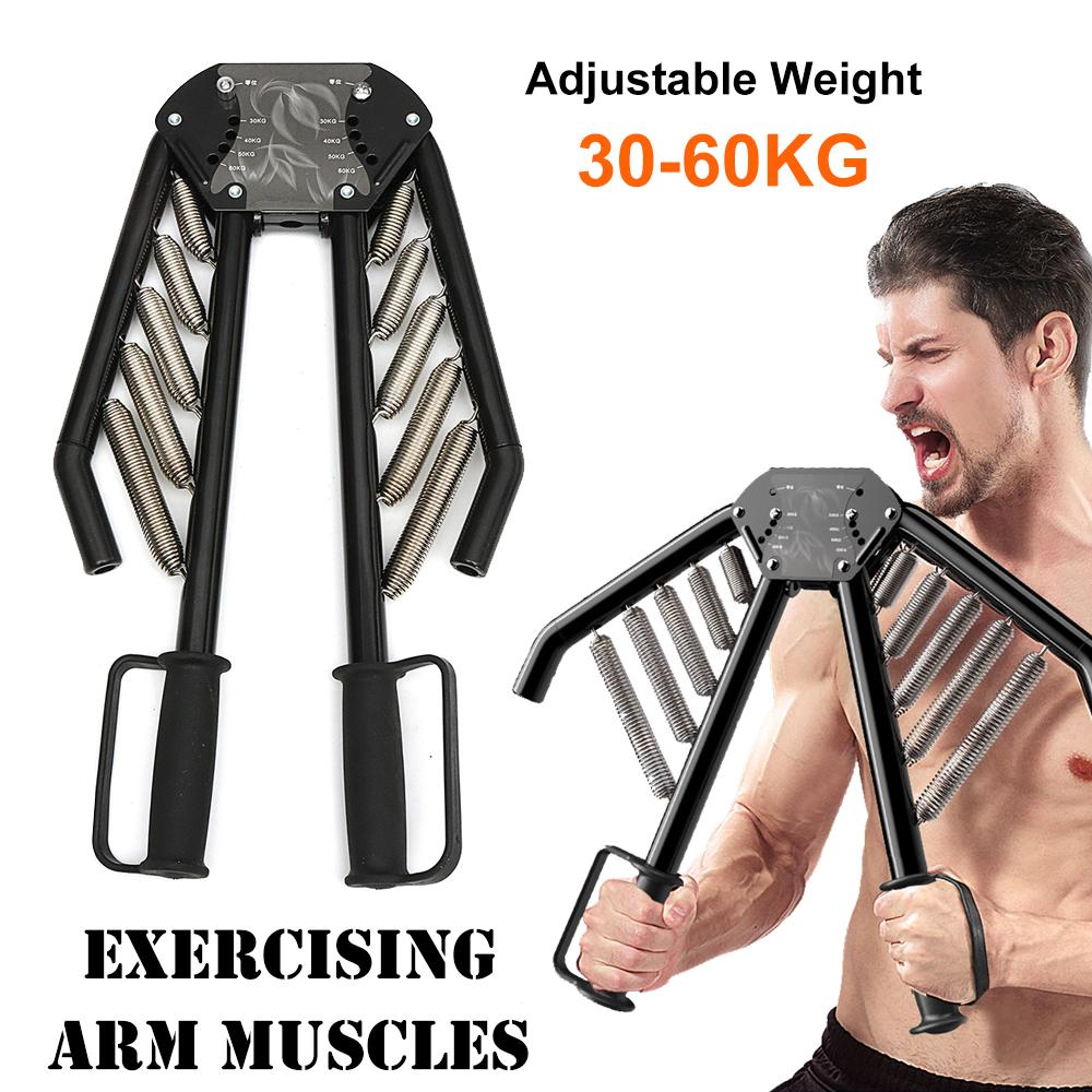 4 In1 Arm Exercises Twister Chest Back Expander Adjustable Strength Trainer Pull