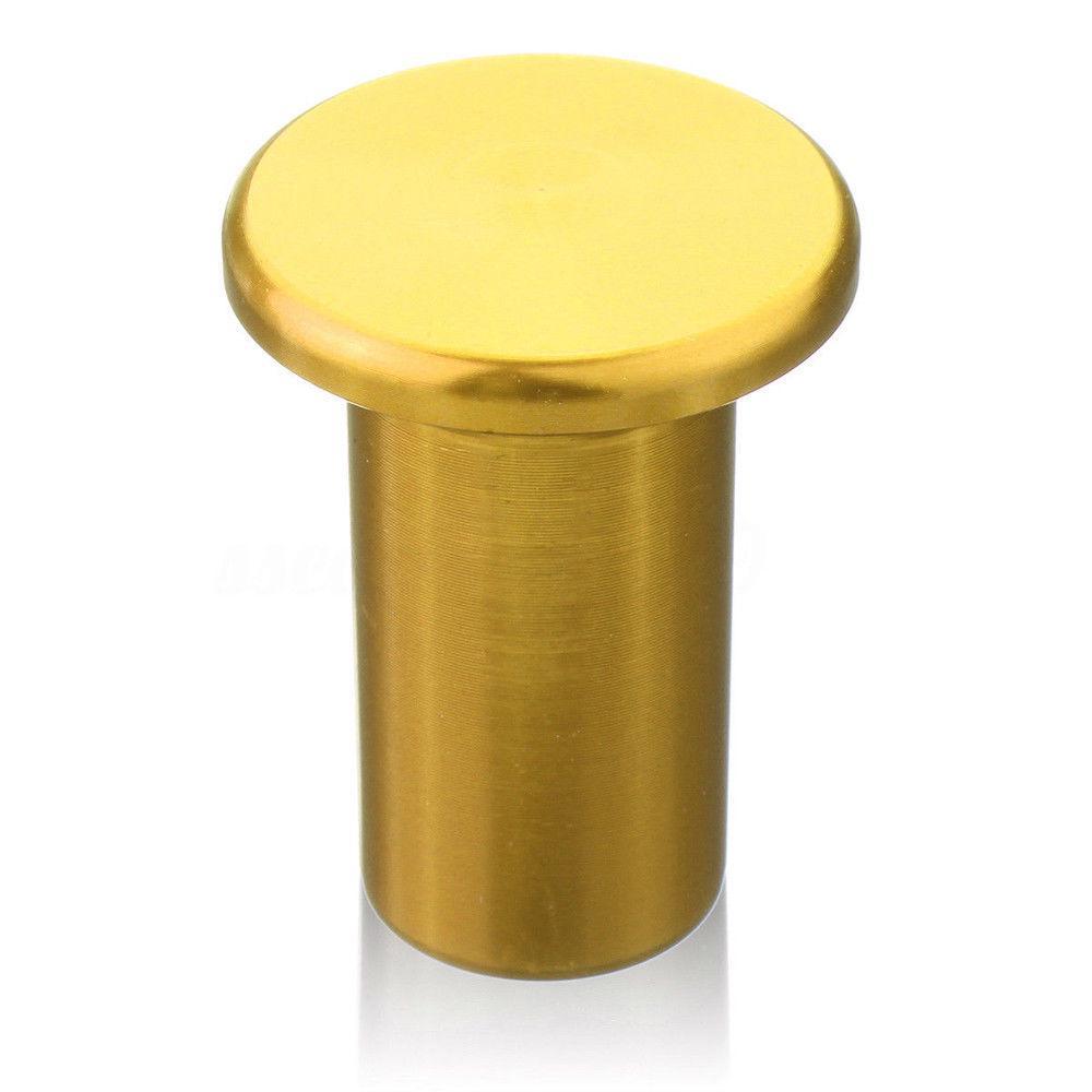 E-Brake Handle Brake Drift Spin Turn Knob Lever Lock Button Universal Aluminum
