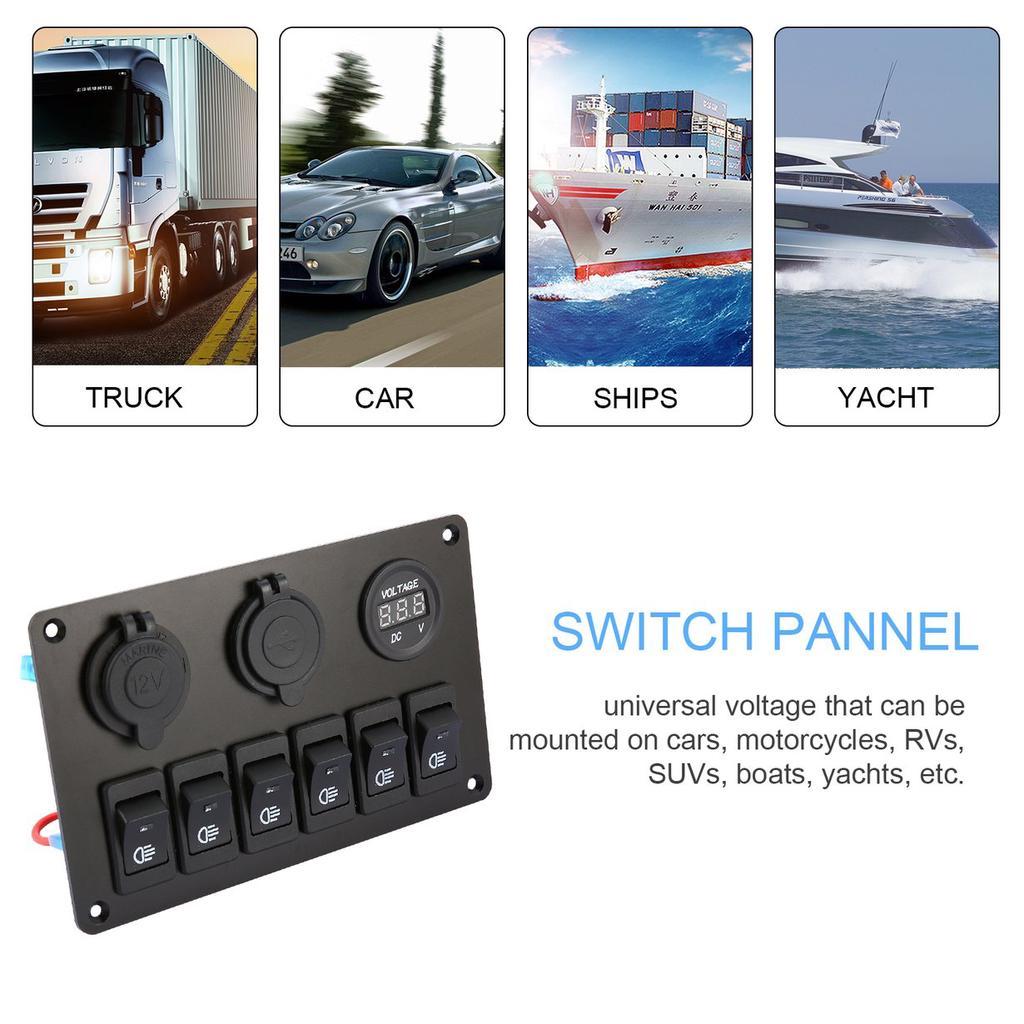 Gang Splashproof Switch Panel Pactrade Marine