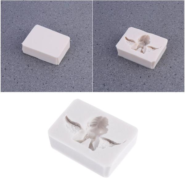 Angle Shape Aromatherapy Silicone Wax Mold DIY Aroma Gypsum Plaster Mould