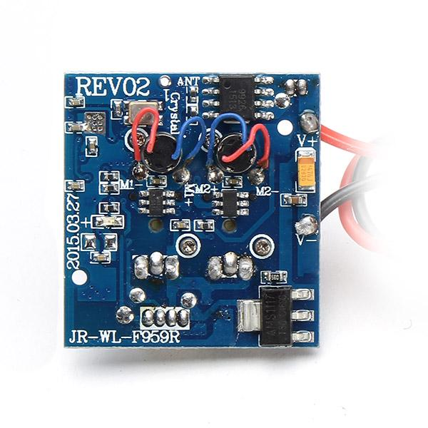 WLtoys 2.4G 3CH F959 Airplane Spare Parts Receiver Board