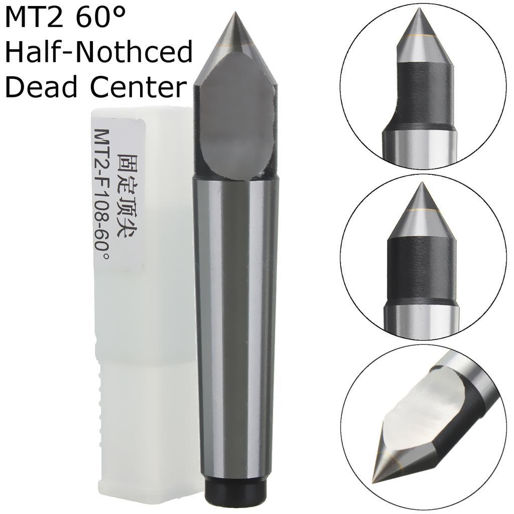 MT2 MK2 Carbide Precision Dead Center 60 Degree Morse Taper #2 Lathe Center
