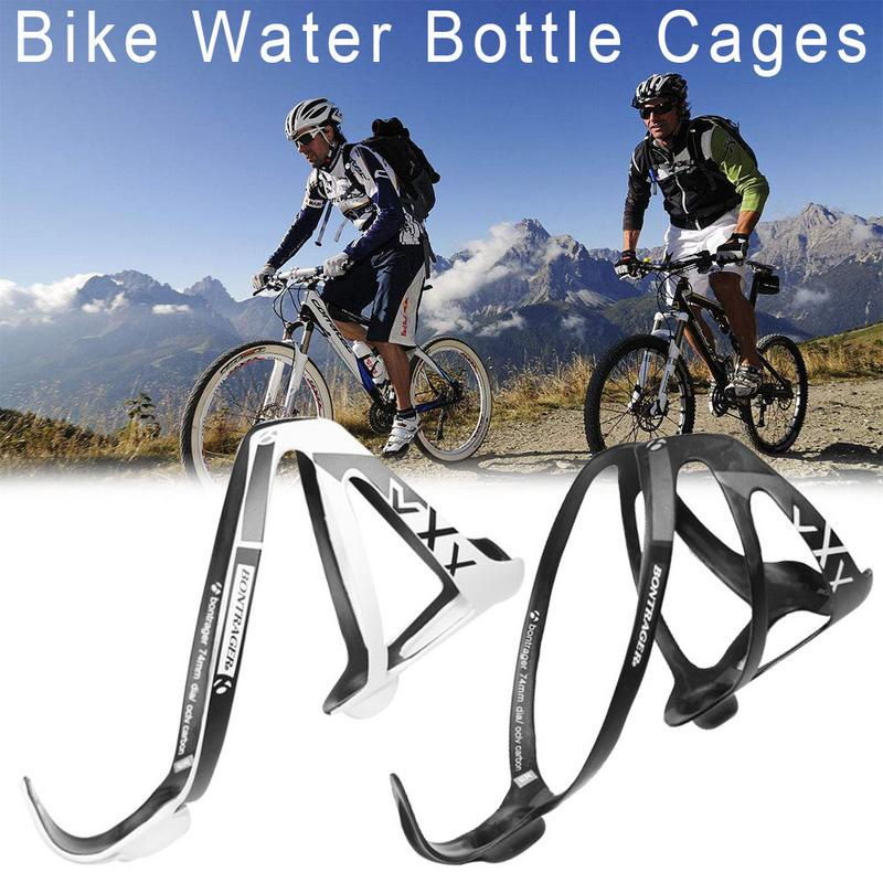 2pcs Carbon UD MTB Mountain Road Bike Bicycle Water Bottle Holder Rack Cage 74mm