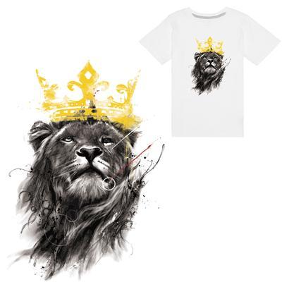 5463ea1cc7be8d Tygrys Żelazko Na Łacie DIY Heat Transfer Sticker Aplikacja Odzież T-Shirt  z tkaniny