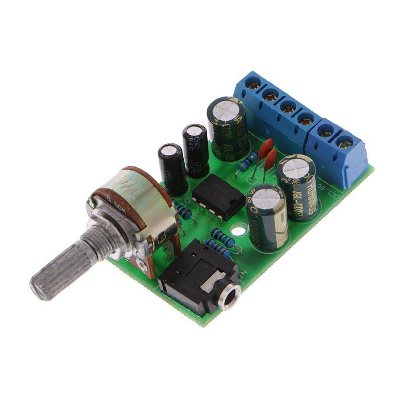 DC 1 8 12V TDA2822M 2 0 Channel Stereo Mini AUX Audio Amplifier Board  Module AMP Non Inverting Amplifier Wifi Amplifier From Zealously_, &Price
