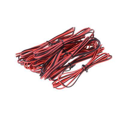22AWG 2-Pin rot schwarz Kabel Pvc isolierten Draht Elektrokabel Diy ...