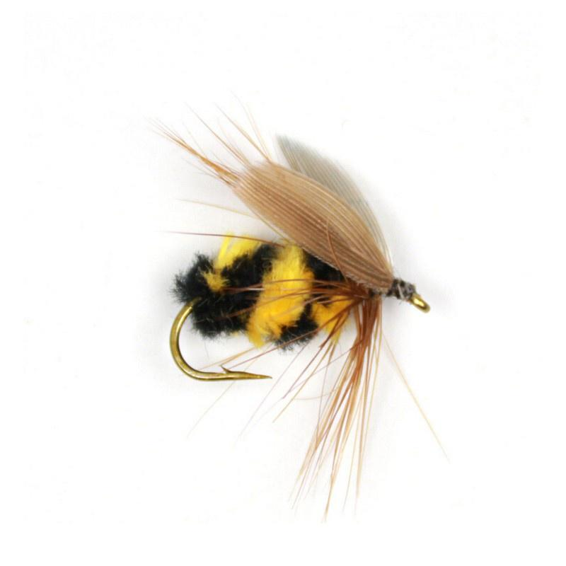 Artificial Insect Hook Bait Bumble Bee Tackle Fly Trout Fishing Lures Insects