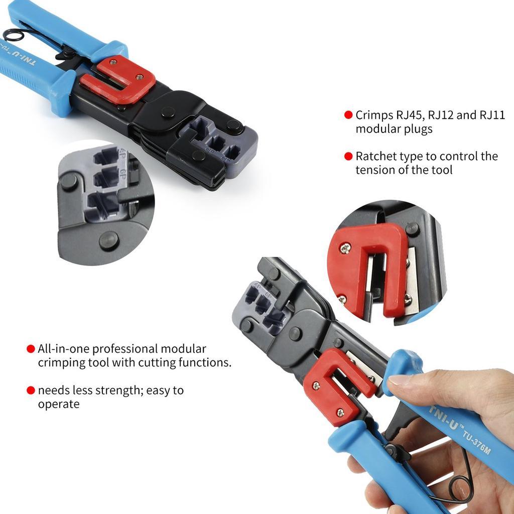 Modular Crimper Modular Plug Crimping Tool Fluke Networks