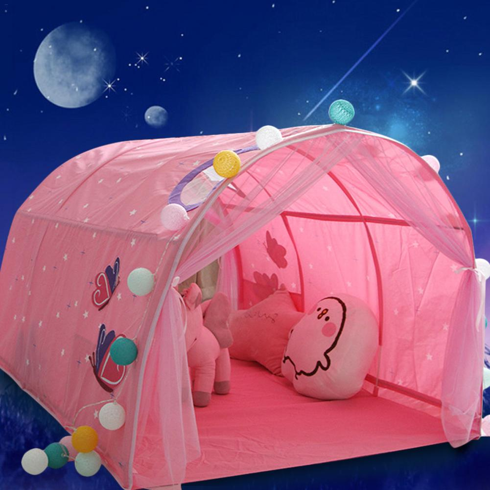 Give Your Baby A Magic World! Multi Cartoon Baby Bed Pop Up Tent Play House Toy