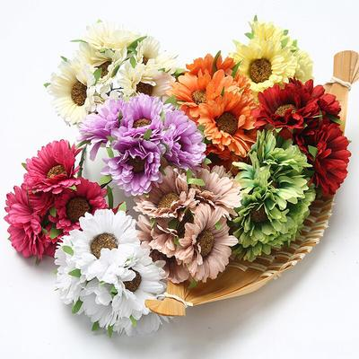 Artificial Flower Hydrangea Daisy Bridal Bouquet Silk Flower For Wedding Party Diy Home Decoration Buy At A Low Prices On Joom E Commerce Platform