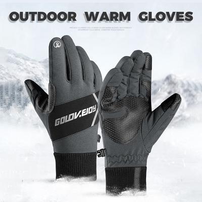 Golovejoy Unisex Touchscreen Handschuhe Winter Outdoor Windproof Geschenk.