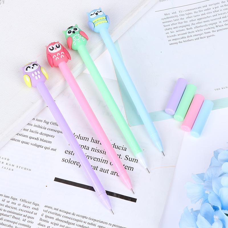 School Office Kawaii Supplies kids stationary 1 PC Cute Cactus Gel Pen Novelty Creative Gift