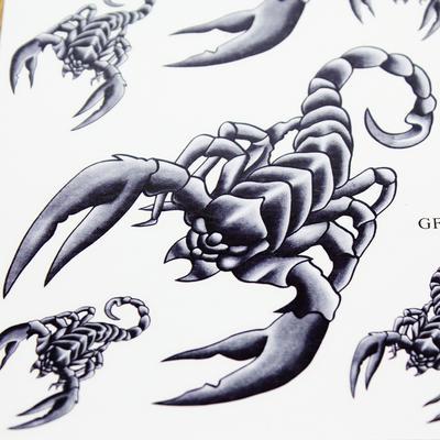 2 Sheet Tattoo Sticker Temporary Arm Finger Body Art Sticker