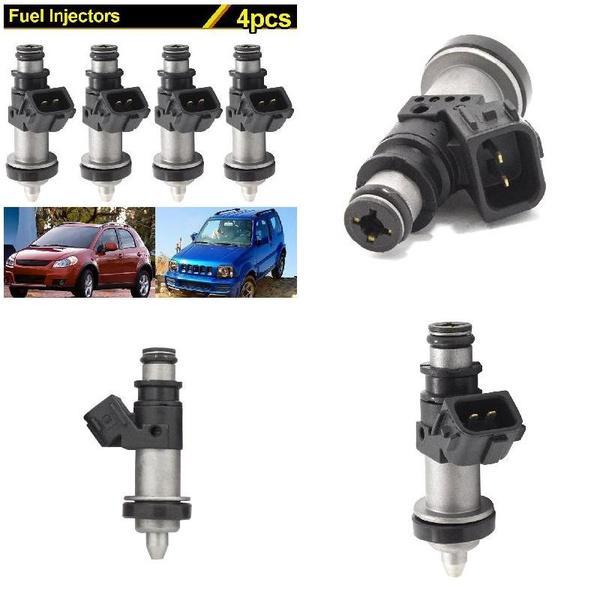 4 Pcs Fuel Injector For Suzuki GSXR 600 750 1000 Hayabusa GSX1300 15710-24F00
