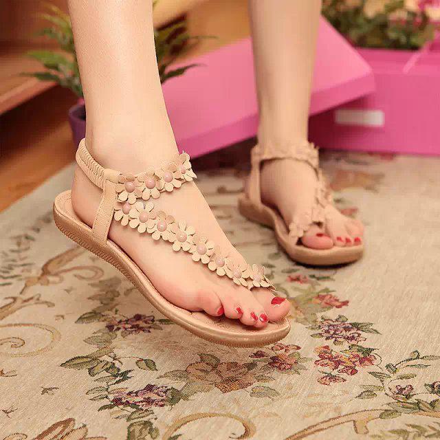 Sandals Neuen Stil Flip Flops, Damenmode, Reine Farbe, Flip Flops, Badeschuhe, 36, Rot