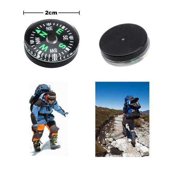 Camping Supplies For Climbing Hiking Compass Smart Compass Button Designs