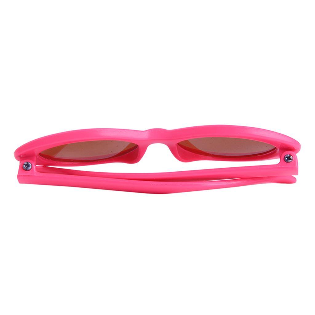 Retro-ovale Mod Dicke Rahmen Gläser für 18\'\' amerikanisches Mädchen ...
