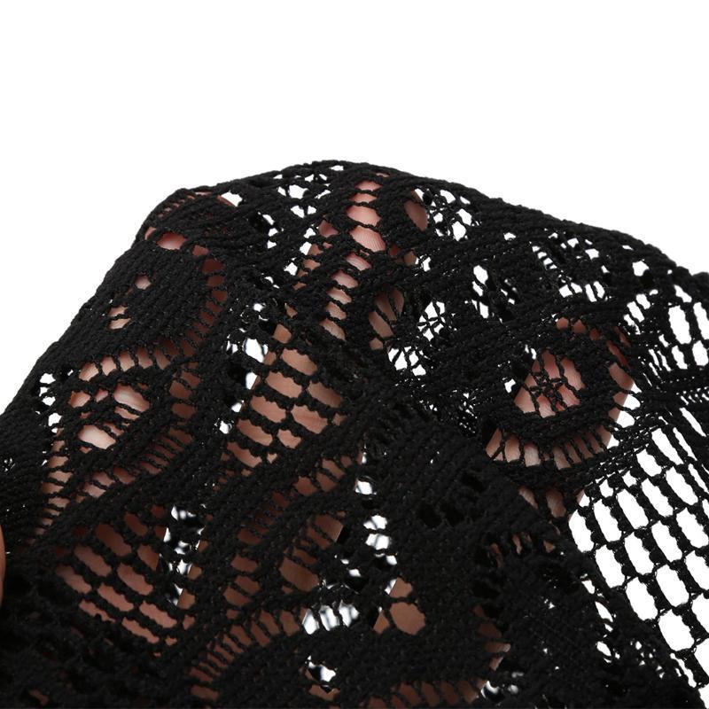 Mujeres moda encaje amplia venda Headwrap pañuelos cabeza envuelve ...