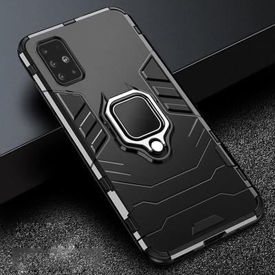 Matte Anti-fingerprint Magnetic Car Holder Finger Ring Shockproof Armor Case For Samsung iPhone Huawei Honor Xiaomi Redmi Etc