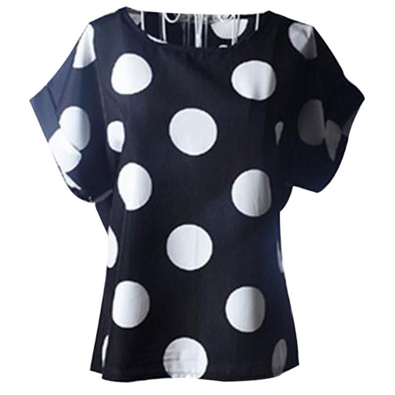 Blusas De Mujer Tallas Grandes Sueltos Impresion Blusa De Gasa Tops Comprar A Precios Bajos En La Tienda En Linea Joom