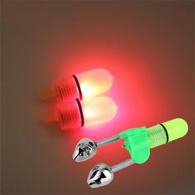 10pcs Night Clip Fishing Rod Tip LED Light Fish Bait Bite Alarm New
