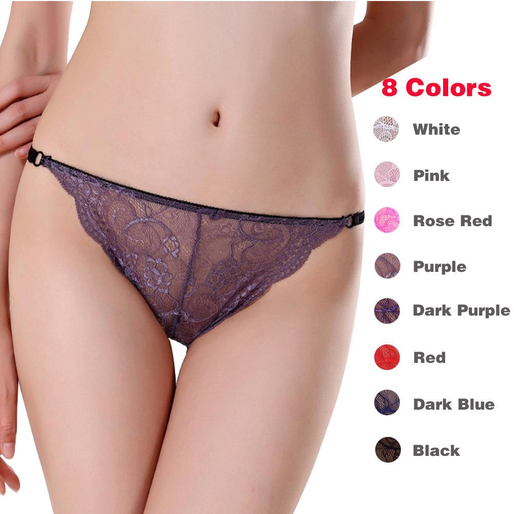 Cotton G-String Thongs V-String Panties Hipster Lingerie Low-Waist Briefs