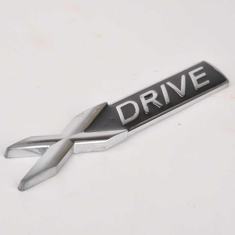 1pc Metal X Drive XDrive Logo Car Body Emblem Badge Sticker Decal for BMW