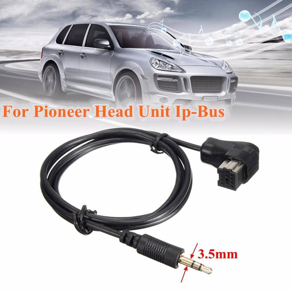 3.5mm Aux Input Cable For Pioneer Headunit IP-BUS Aux Input Adapter Cable Cord