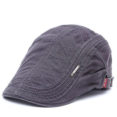 Cotton Beret Hats for Men Summer Flat Cap Casquette Caps Fall Berets Men's Hat for Auntumn Winter