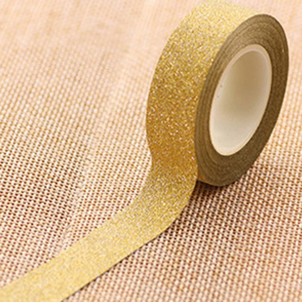 Christmas Wrapping Sequin Ribbon Reel Pack of 3 Colours Each 5mm x 2 Meters