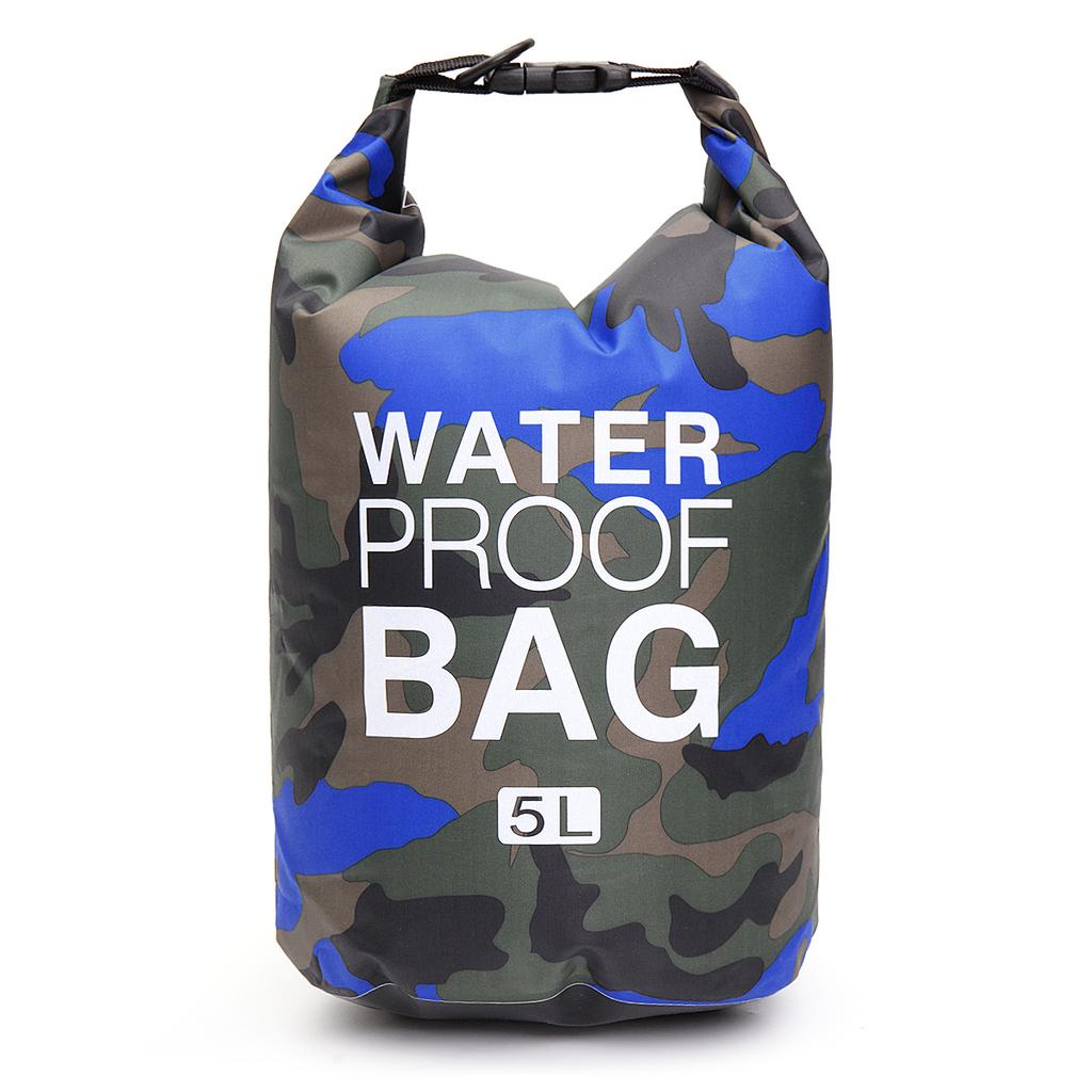 Pvc Waterproof Dry Bag 5l 10l 15l 20l 30l Camo Outdoor Diving Foldable Sport Bags Beach Swimming Bag Rafting River Ocean Backpack Buy From 14 On Joom E Commerce Platform