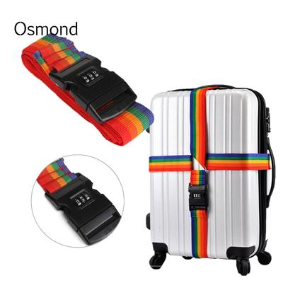 Luggage Cross belt adjustable Travel Suitcase band Luggage Suitcase rope Straps travel accessorie