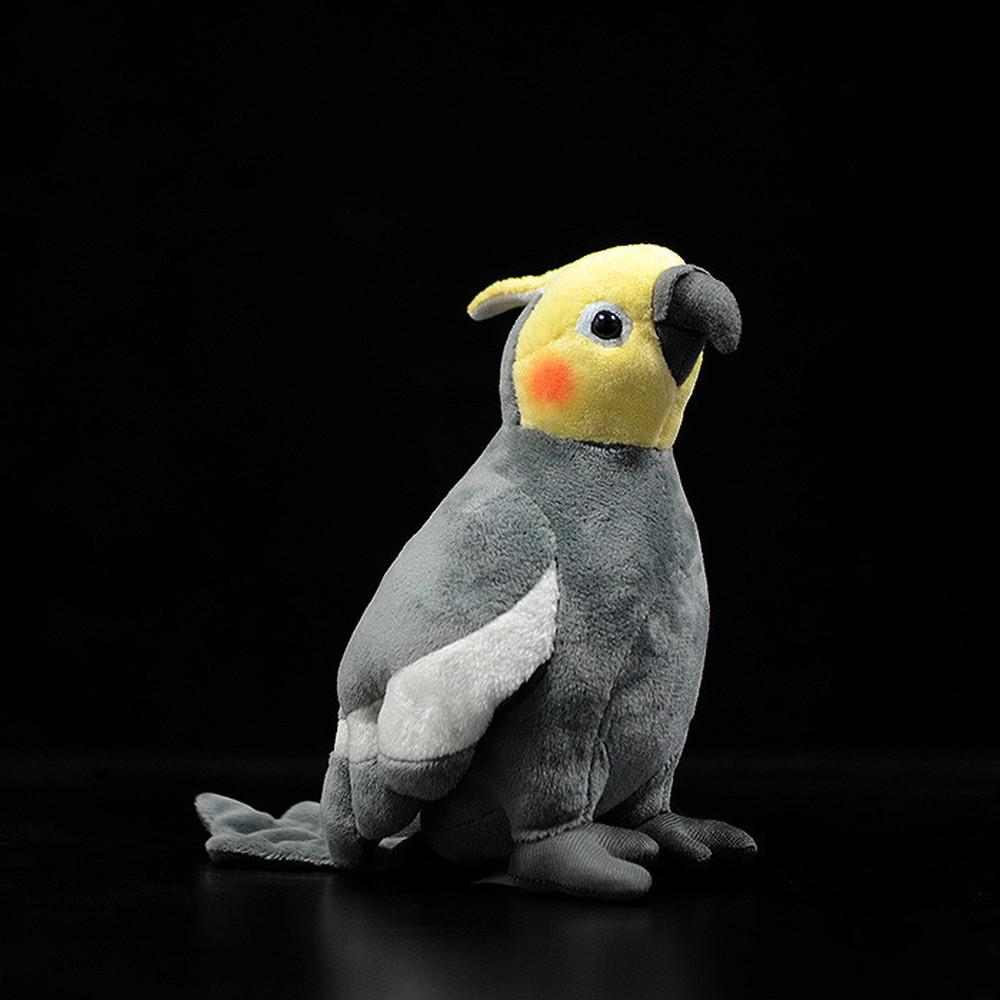Creative Simulation Bird Cockatiels Parrot Doll Stuffed Plush Toy Kid/'s Gift US