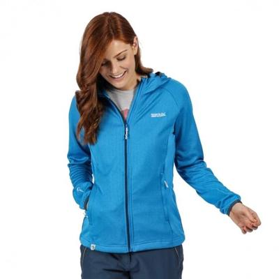 Regatta Softshell Jacket with Hood In Helio Soft Shell